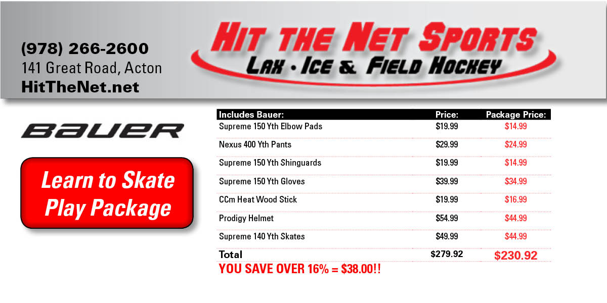 Hit the Net Play Package