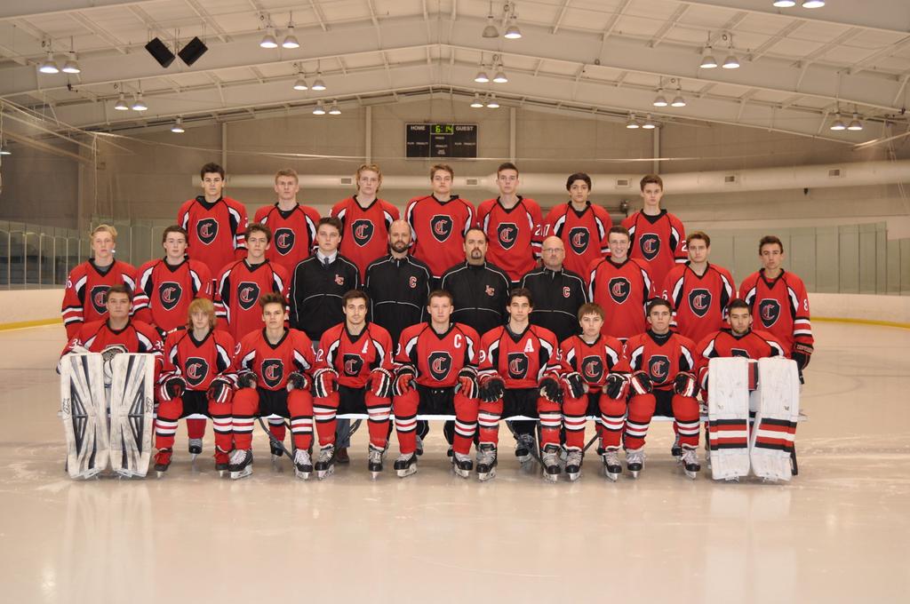 Churchill Chargers Varsity Hockey 2016-17