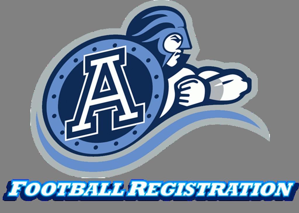 2017 Algonquin Argonauts Football Registration
