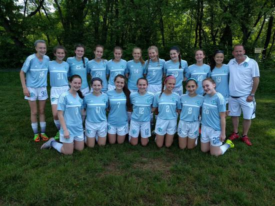 PTSA 2003's with Coach Owen at the EDP Pocono Cup Memorial Day Tournament