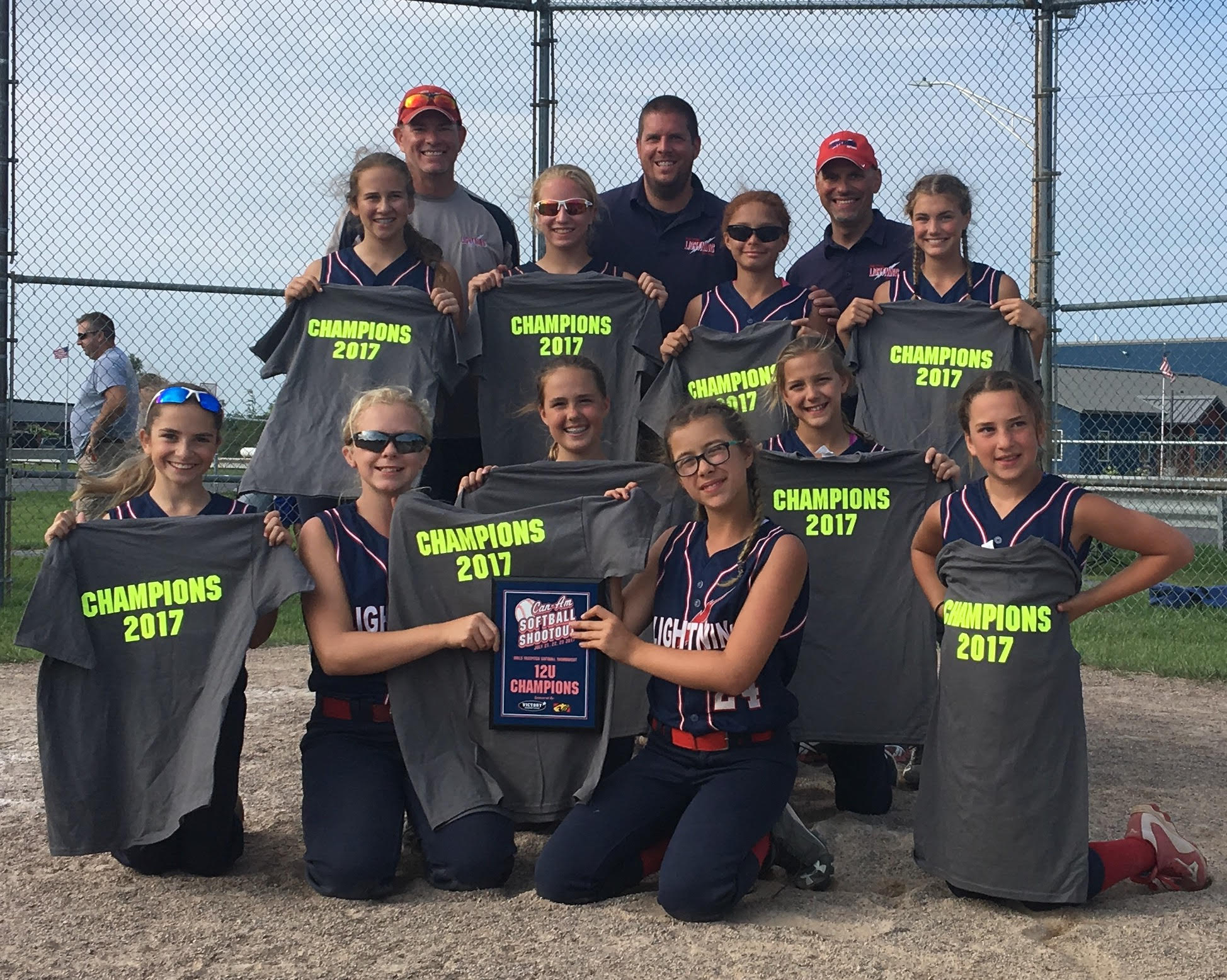 12U Wesolowski wins Can Am championship July 21-23