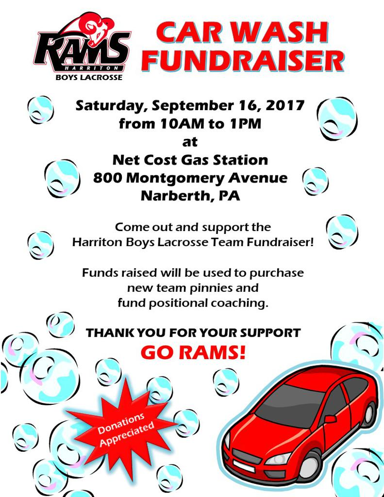 Please sign up to wash some cars from 10AM to 1PM on Saturday, September 16th.  Lunch will be provided!