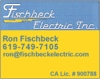 Sponsored by Fischbeck Electric (Ron Fischbeck)