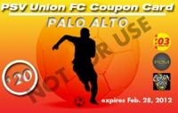 PSV Union Coupon Card