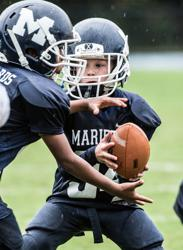 MYFL players learn sportsmanship, teamwork, mental, and physical strength and conditioning