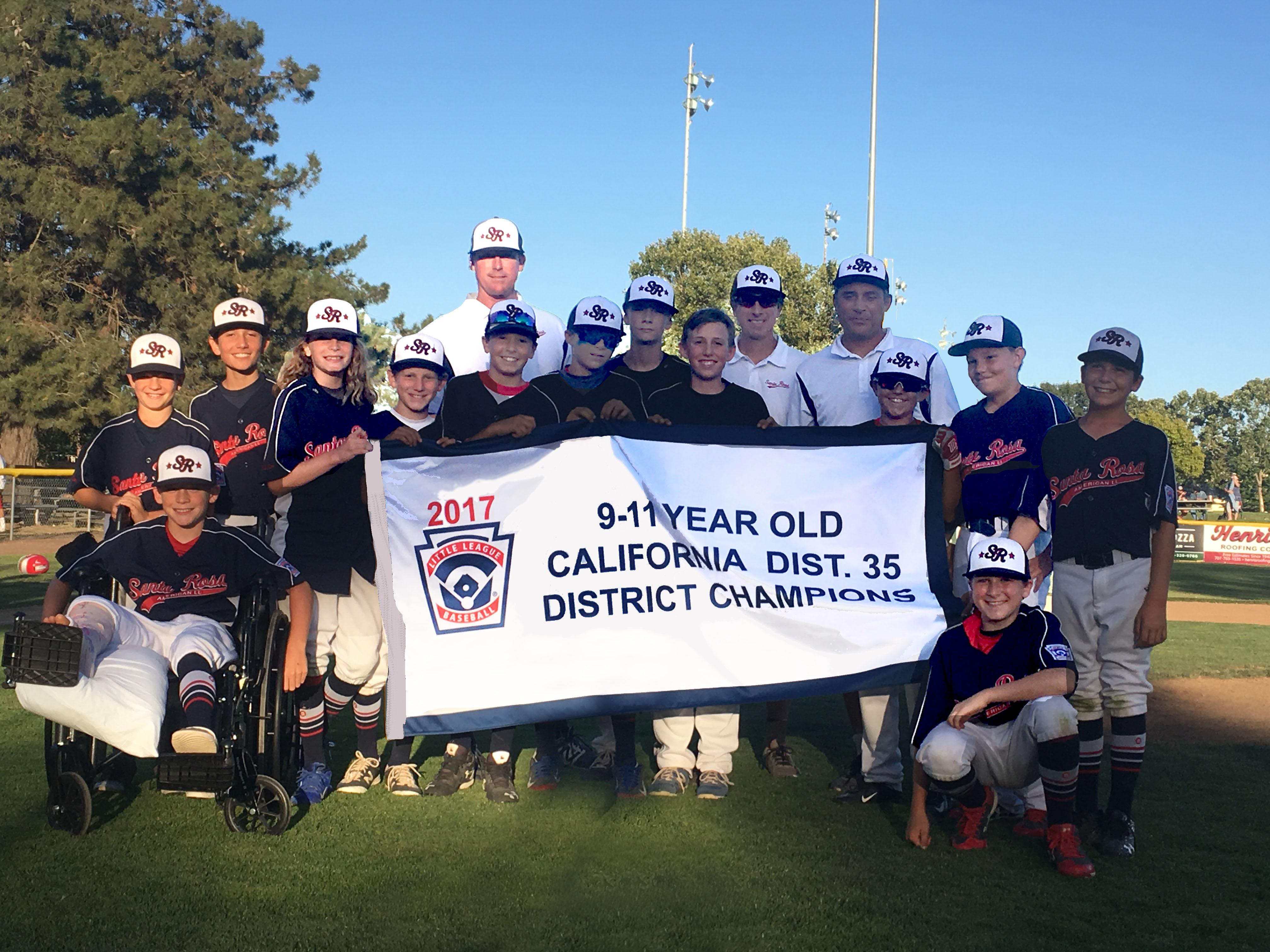 District35   9-11 year old Champs
