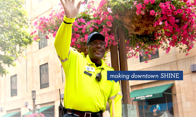 Minneapolis Downtown Improvement District Making downtown shine