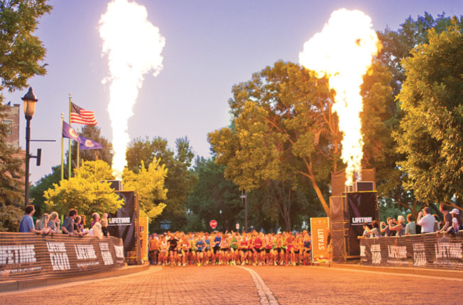 Life Time Fitness Torchlight 5K