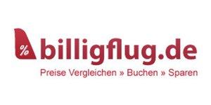 Cash Back et réductions billigflug.de & Coupons