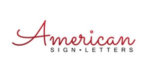 American SIGN LETTERS Cash Back, Rabatte & Coupons