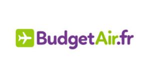 BudgetAir.frキャッシュバック、割引 & クーポン