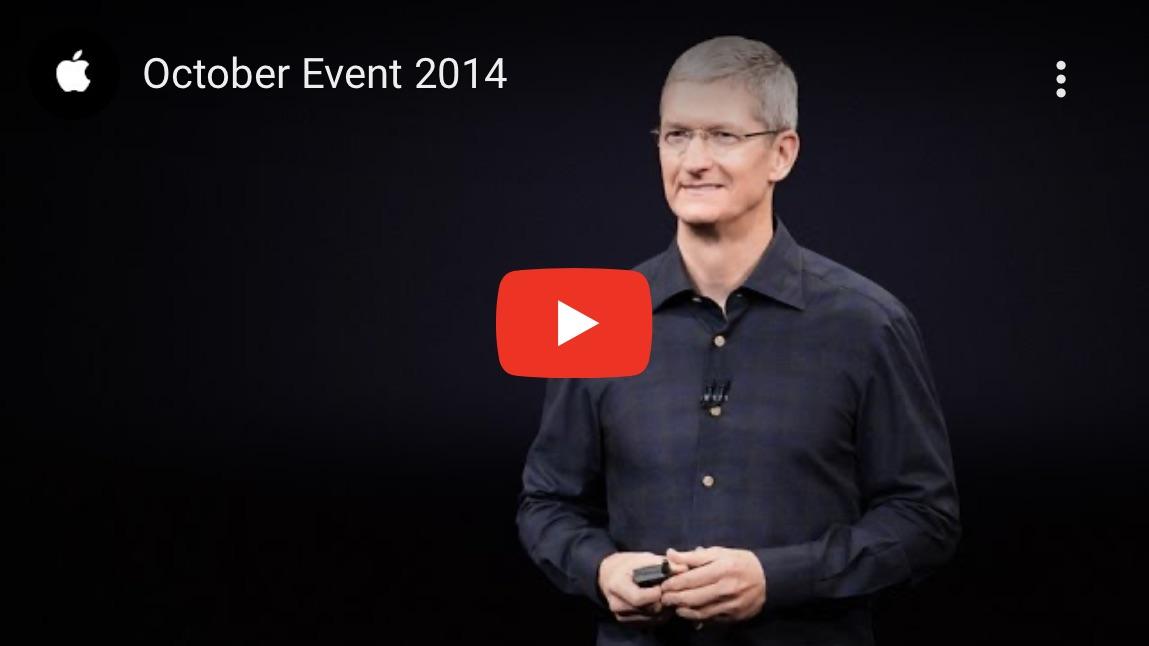 Apple Keynote October 2014