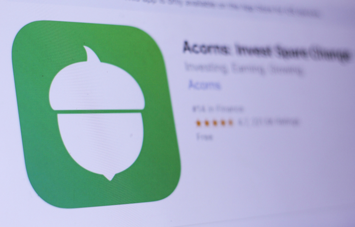 Acorns is the second best investing app.