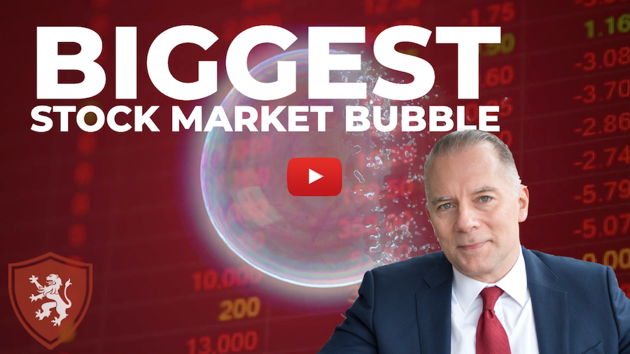 Biggest Stock Market Bubble