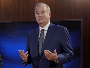 Bill O'Reilly Gesturing