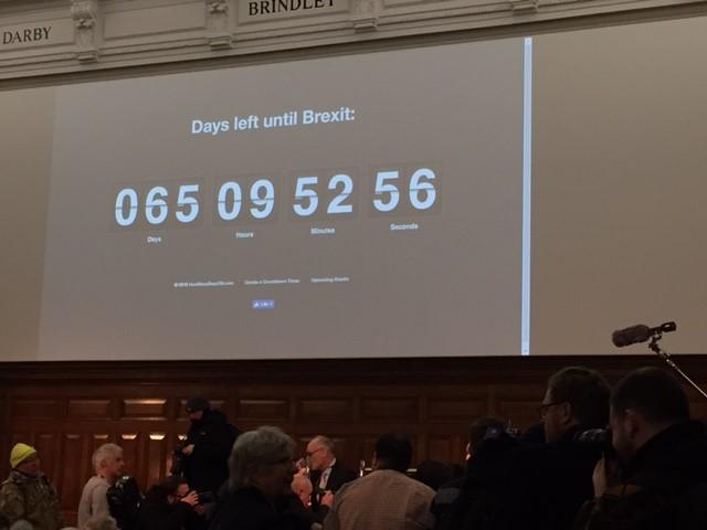 Days Left until Brexit