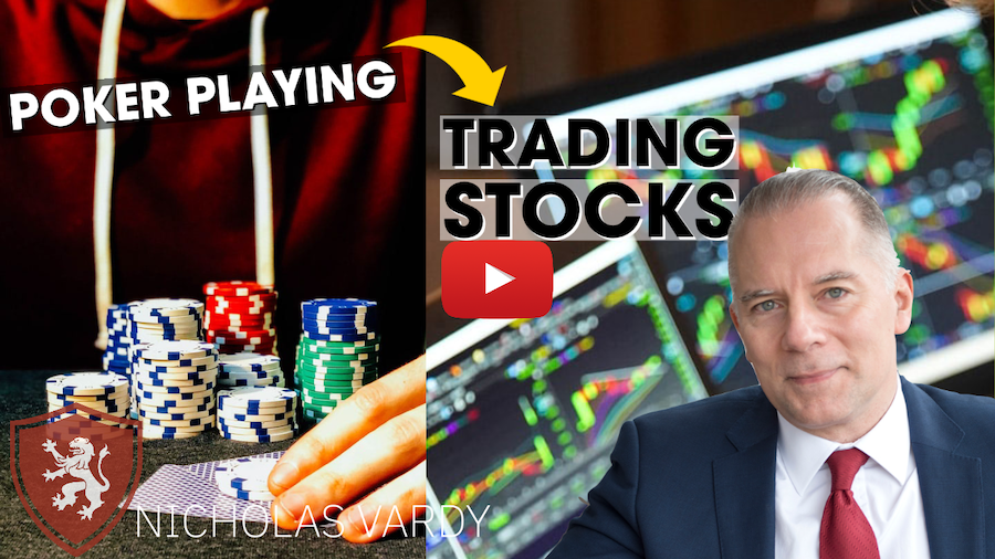 Playing Poker-Trading Stocks