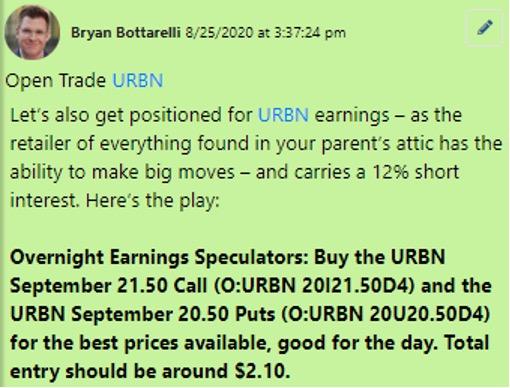 URBN Trade