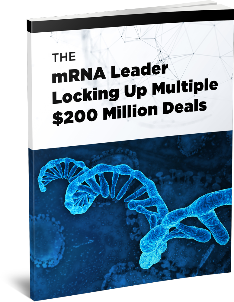 The mRNA Leader Locking Up Multiple $200 Million Deals