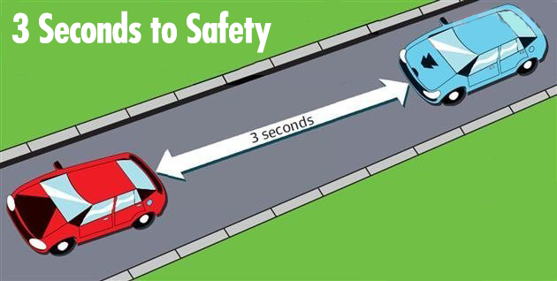 Safe Driving Distance Between Two Cars
