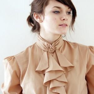 ascot librarian blouse