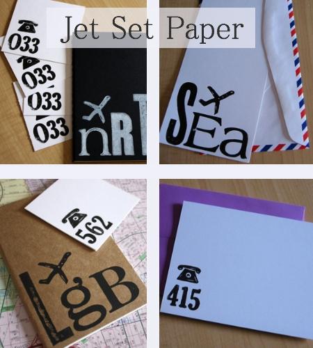 jet set paper