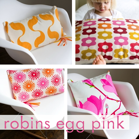 robins egg pink