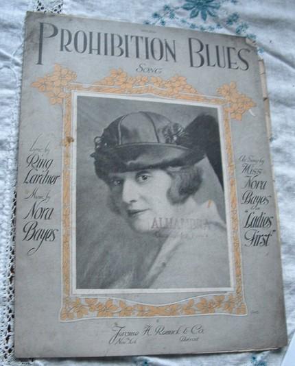 prohibition blues