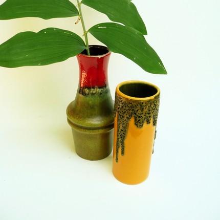 west german vase pair