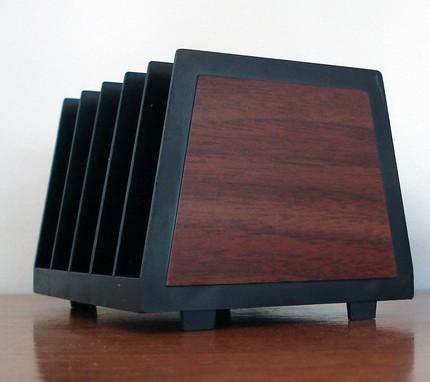faux bois black