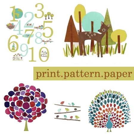 print pattern paper