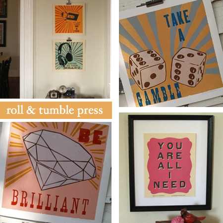 roll and tumble press