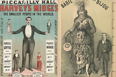 victorian sideshow posters