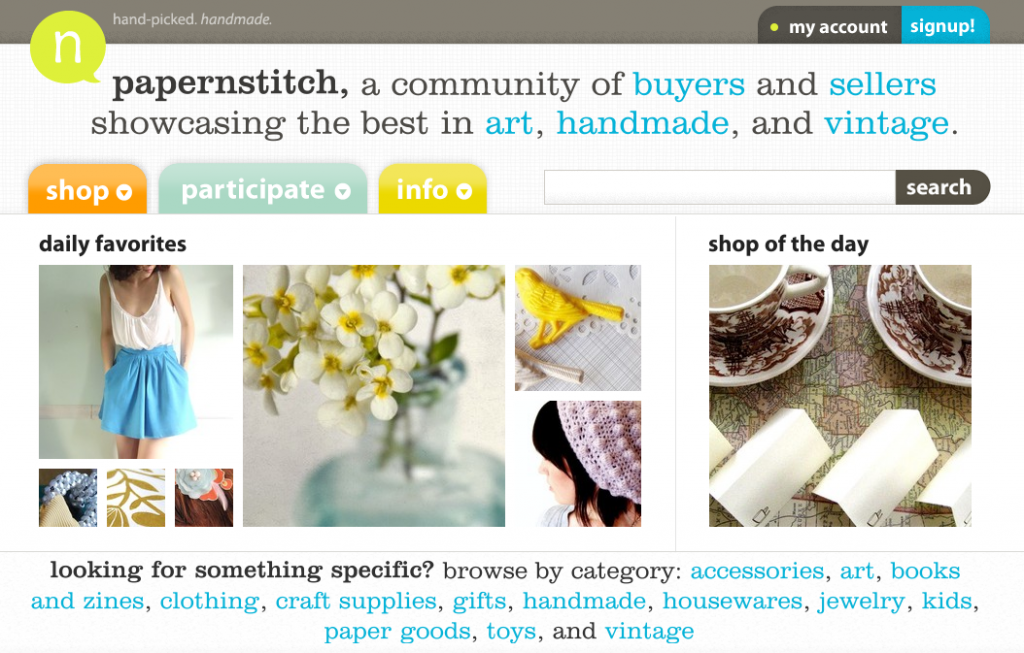 new look for papernstitch