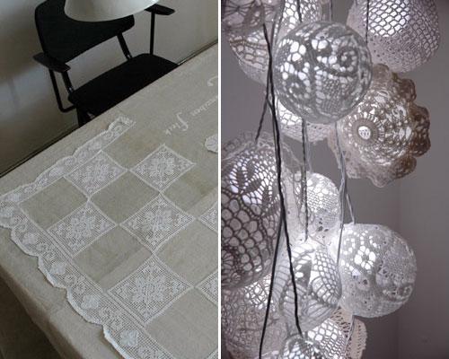 bloesem lace lamp