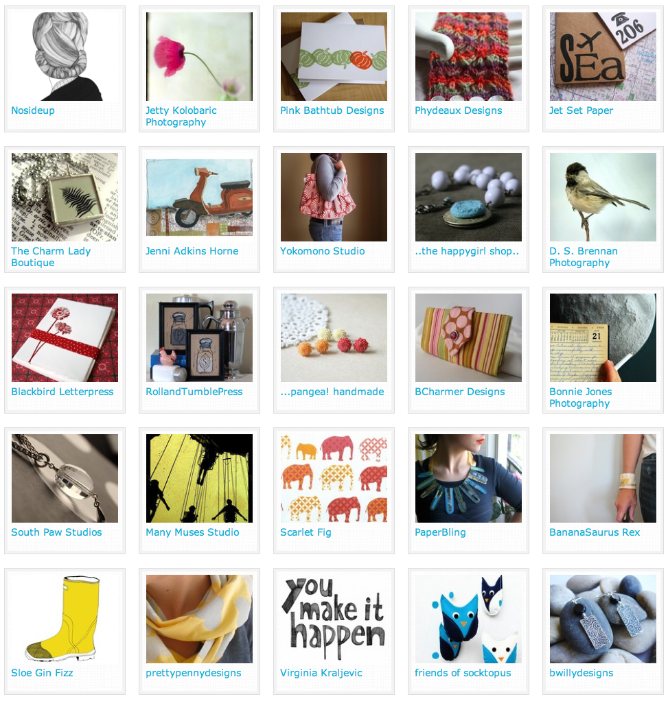 handmade and vintage shops from the new papernstitch exhibition
