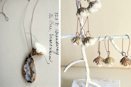 cotton jewelry from jewelera