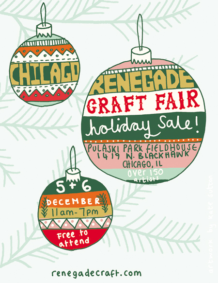 Renegade Holiday Sale Chicago THIS WEEKEND!!!