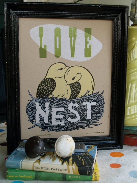 love nest giveaway from roll and tumble press