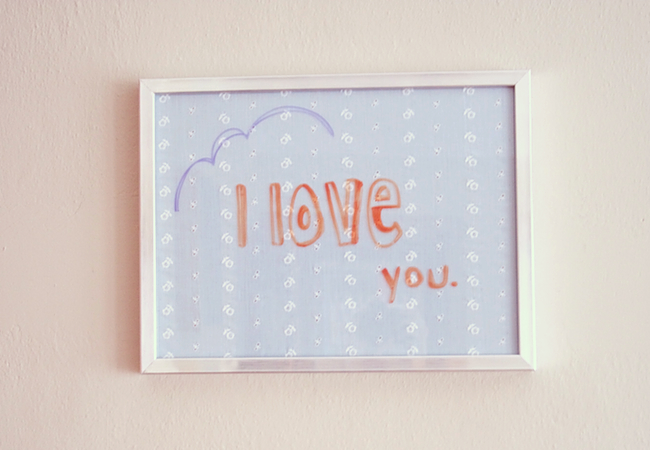 Tutorial Double Duty Dry Erase Board Paper And Stitch