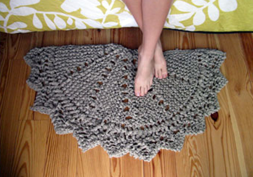 Knitted Rugs Free Patterns : oh, hello friend blog