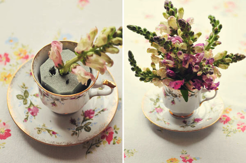 5 Ways to Reuse a Teacup (diy roundup) - Paper and Stitch