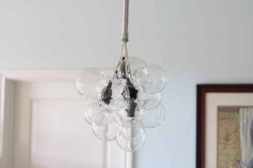 Diy lighting project modern glass bubble chandelier paper and stitch jeff aloadofball Images