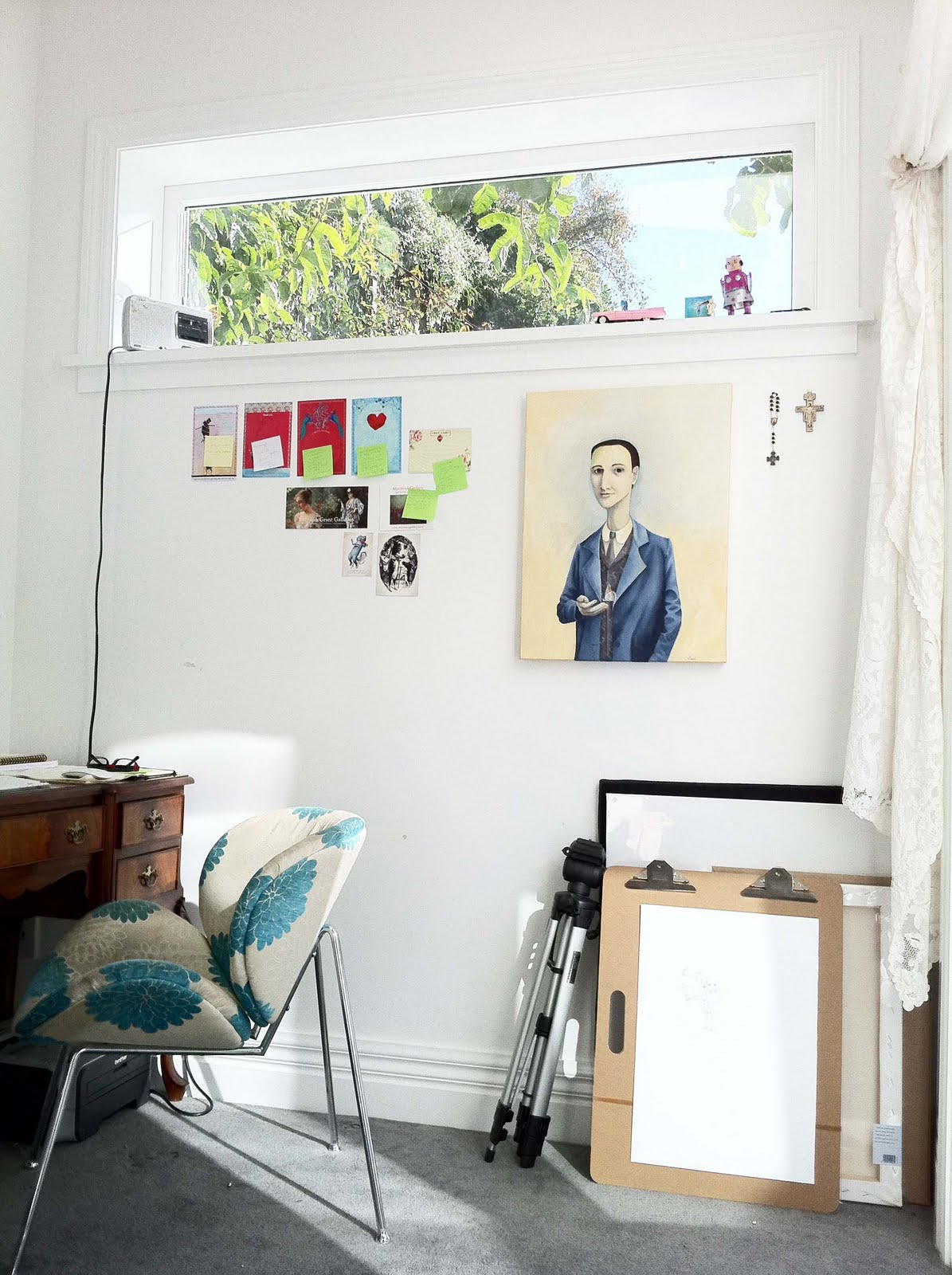 Studio Tour with Painter Crispin Korschen at BarkingMad - Paper and ...