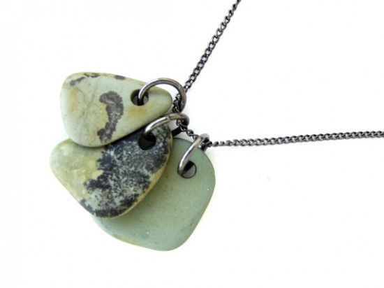 Make This: Drilled Natural Stone Jewelry Tutorial - Paper ...
