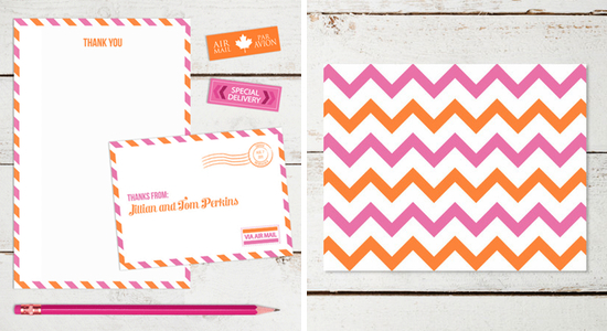 thank you cards shop a love for stationery paper and stitch