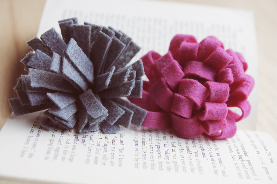 Diy The Step By Step Guide To Felt Flowers Five Ways Paper And Stitch