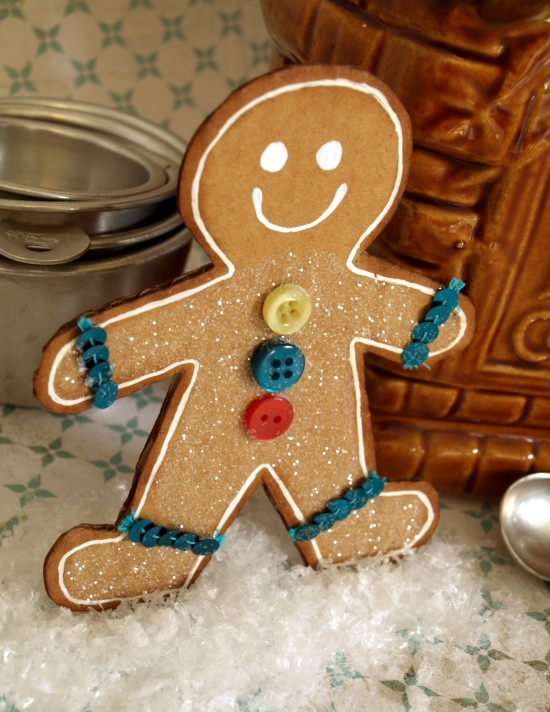 Gingerbread man home project