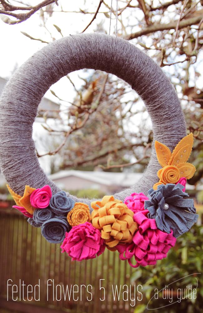 Weaving Floral Four Felt Rose Baby Flower Hairband Leaves Rainbow Headwear