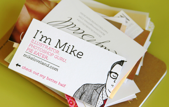 when - Amazing Business Cards